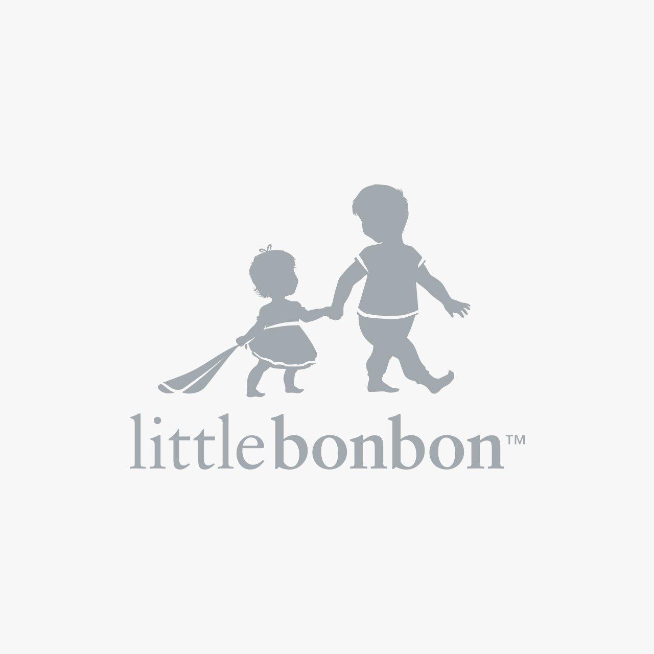 baby blanket-identity design LittleBonBon Logo