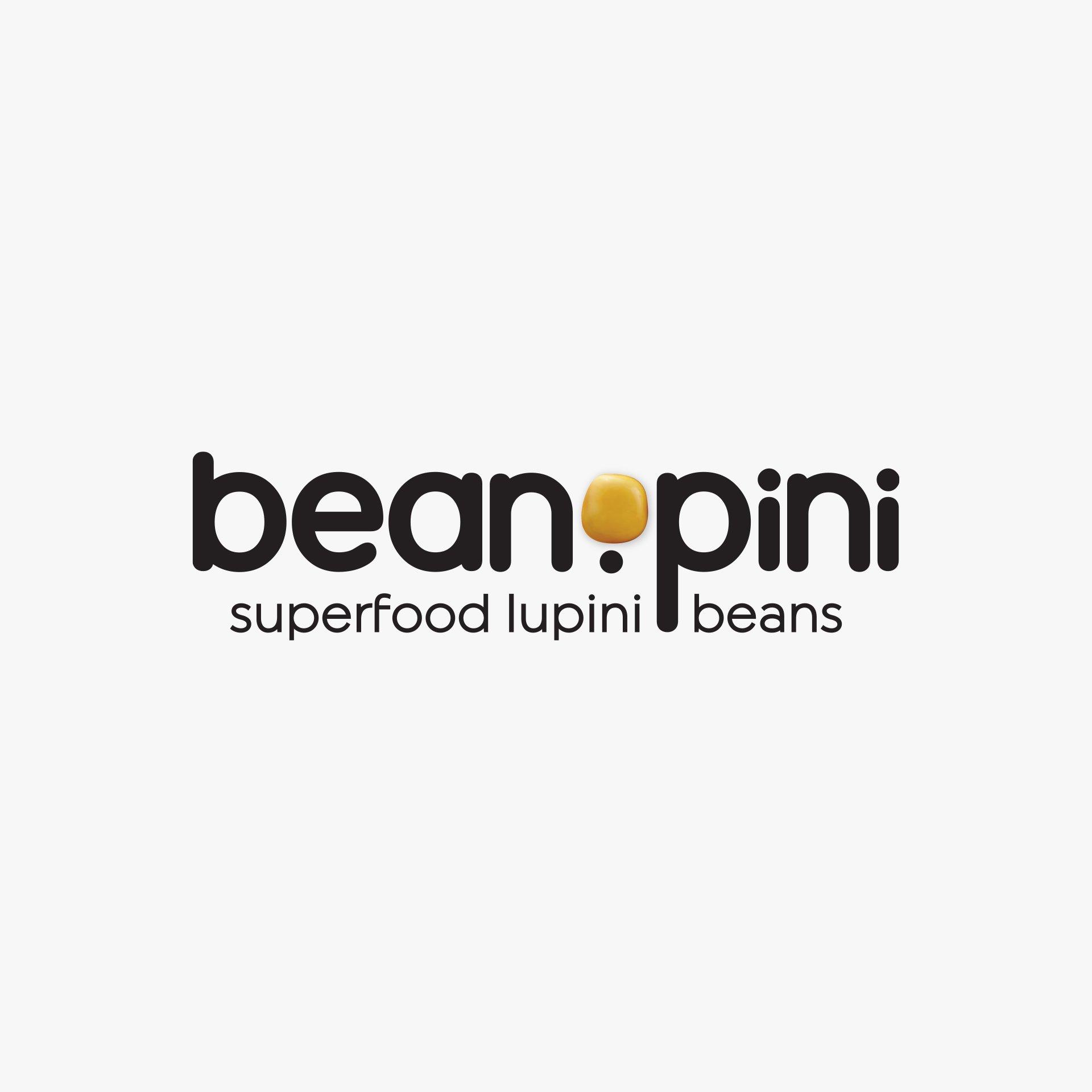 superfood packaging design Beanopini logo