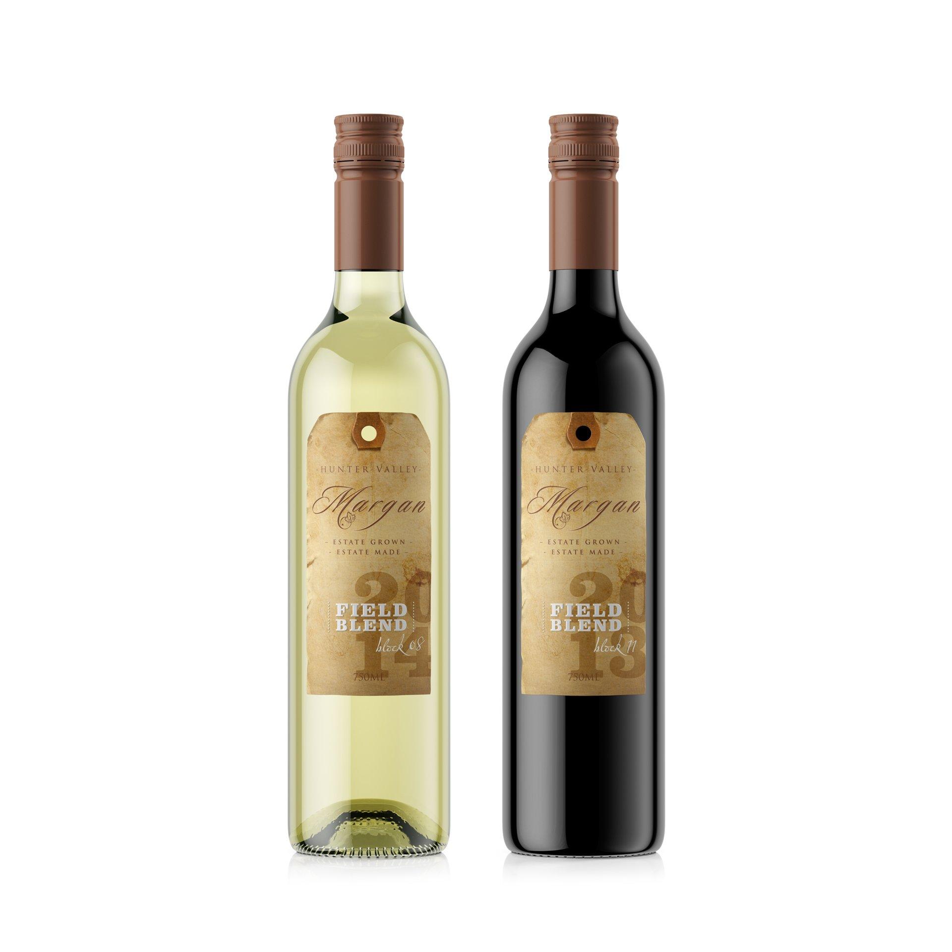 Margan wine packaging design