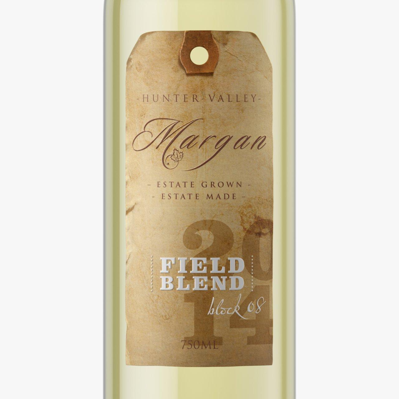wine packaging design Margan label